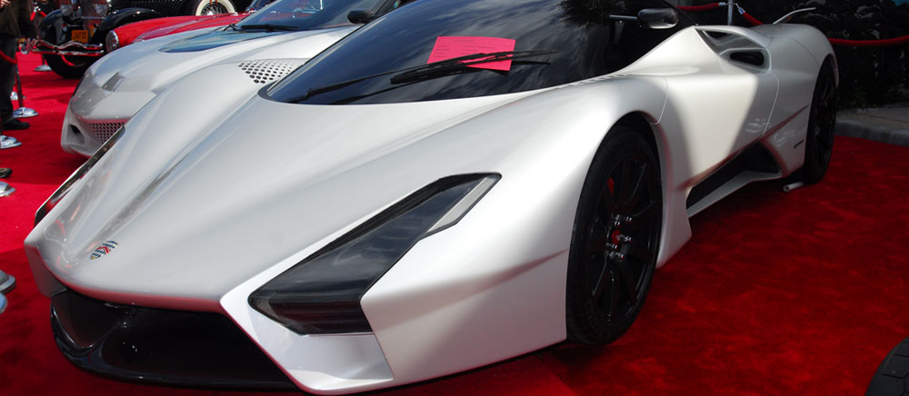 SSC Tuatara - First Rolling Prototype ofShelby SupercarsNew Car